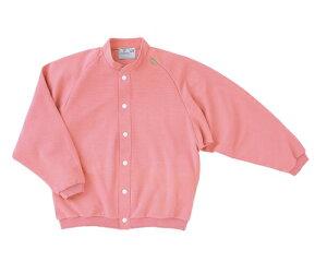 キラク 前開きシャツ S CR805-14(ピンク)