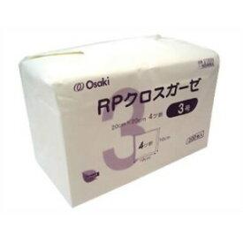 オオサキメディカル RPクロスガーゼ 3号 200枚入 20cm×20cm 4ツ折