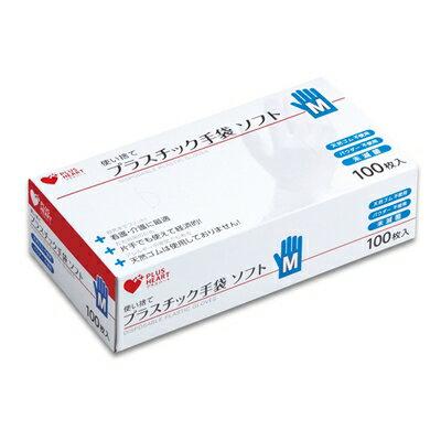 オオサキメディカル PHプラスチック手袋 ソフトPF M 100枚【02P06Aug16】