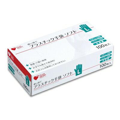 オオサキメディカル PHプラスチック手袋 ソフトPF L 100枚【02P06Aug16】