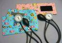 【感謝価格】ギヤフリーアネロイド血圧計 タイコス型柄カフ綿製