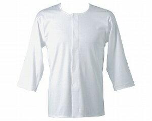 紳士用7分袖前開きシャツ L