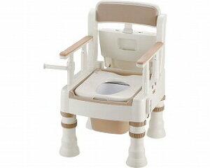【送料無料】ポータブルトイレきらく「ミニでか」MS−D型