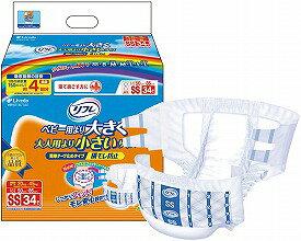 【あす楽】新リフレ簡単テープ止め横モレ防止SS34枚 袋