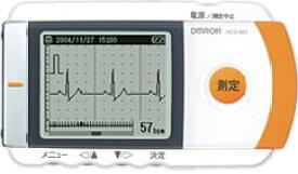 【あす楽】【送料無料】【無料健康相談 対象製品】オムロン 携帯型心電計 HCG-801 印刷用ソフトセット   【特定管理】