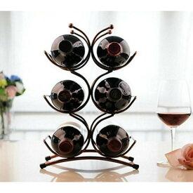ワインスタンド ワインボトルホルダー ワインラック クラシックブロンズ 6本用