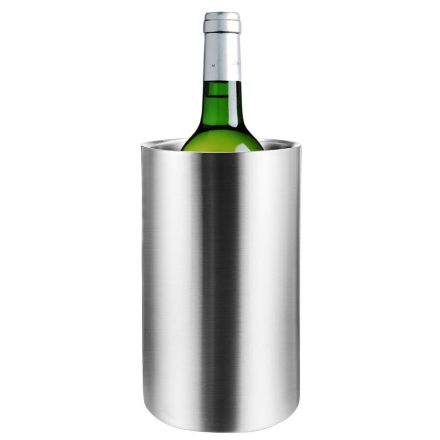 ステンレスアイスバケット 二重 ワインクーラー