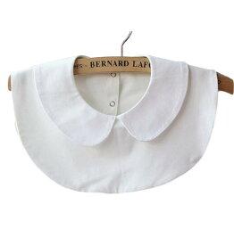 付け襟 簡単イメチェン フェイク衿 つけ襟 まる襟 ラウンド ホワイト