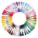 刺しゅう糸 刺繍セット カラーが豊富できれい 50色 50束 セット