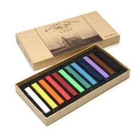 [12色] カラーチョーク ヘアチョーク パステル 画材 1Dayカラーリング おしゃれ染め グラデーション自在