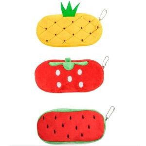 フルーツ ぬいぐるみ ポーチ 収納ケース ペンケース スマホケース スイカ イチゴ パイナップル