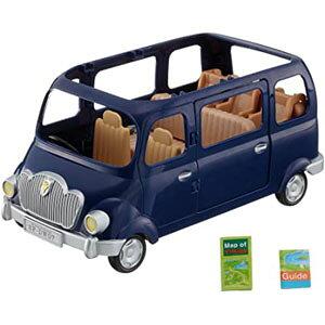 【ポイント10倍!】シルバニアファミリー みんなでドライブ ファミリーワゴン V-02 コレクション 人形 ドール シルバニア 遊び 玩具 オモチャ 自動車シリーズ 自動車 キャラクター