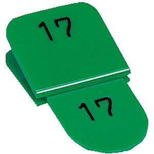 【ポイント5倍!】ORIONS 親子番号札 角型 1-50 グリーン CT-3-1-G クラークチケット 番号札 札 荷札 クラーク チケット 引換券 引き換え カウンター 旅館 ホテル 識別 分類 交換