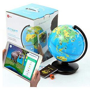 【ポイント5倍!】 3Dで学べる 知育地球儀 世界各国の特徴や文化を楽しみながら学習 立体表示で面白い AR ( 拡張現実 ) 知育玩具 バイリンガル 入学祝い 進級祝い こどもの日 クリスマス 誕生