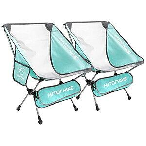 【ポイント5倍!】 アウトドアチェア キャンプチェア バックパック キャンプ 折りたたみ椅子 2脚セット 通気性 メッシュ構造 サイドポケット付 アルミフレーム コンパクト 軽量 バッグ付き