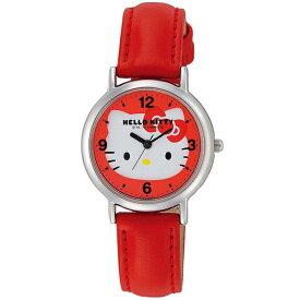ハローキティ 時計 HELLO KITTY キッズ腕時計 レッド HK15-132 ギフト プレゼント 誕生日