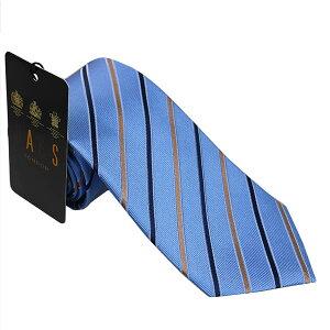 ダックス DAKS 紳士ブランドネクタイ necktie D11534-4 ブルー系 [ギフト プレゼント 贈答品 記念品 就職祝い 昇進祝い 新入学]
