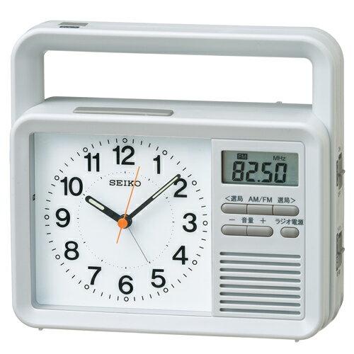 SEIKO CLOCK(セイコークロック) 多機能防災クロック アナログ目覚まし時計 KR885N