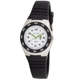 カクタス 【CACTUS】 kids キッズ腕時計 子供用時計 10気圧防水 ELバックライト ブラック CAC75-M01 ギフト プレゼント 記念品 誕生日
