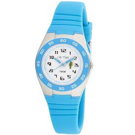カクタス 【CACTUS】 kids キッズ腕時計 子供用時計 10気圧防水 ELバックライト ブルー CAC75-M03