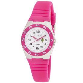 カクタス 【CACTUS】 kids キッズ腕時計 子供用時計 10気圧防水 ELバックライト ピンク CAC75-M55