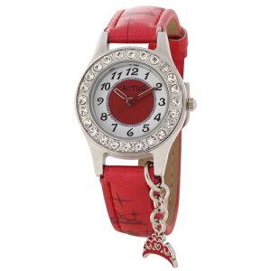 カクタス CACTUS kids キッズ腕時計 子供用時計 ドルフィンチャーム レッド CAC71-L07 ギフト プレゼント 記念品 誕生日