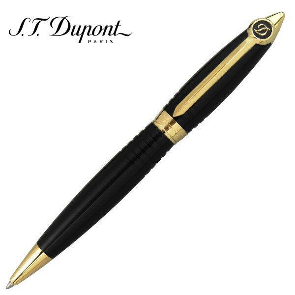 エス・テー・デュポン ボールペン ストリームライン・R セラミウムACT マットブラック&ゴールド ギフトプレゼント 父の日 贈答品