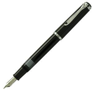 ペリカン 万年筆 Pelikan クラシック トラディショナル ブラック P205-BLACK ペン先:EF(極細)ギフト 贈答品 記念品