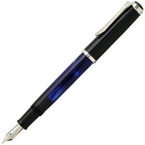 ペリカン 万年筆 Pelikan クラシック トラディショナル マーブルブルー M205-MB ペン先:EF(極細)ギフト 贈答品 記念品