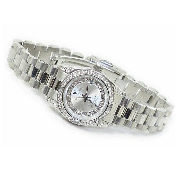 レディス腕時計 シルバーカラー 10気圧防水 デイトカレンダー アイザック・バレンチノ IVL-1000-5 ギフト プレゼント 贈答品 記念品