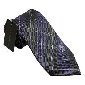 パトリック コックス 紳士ブランドネクタイ PATRICK COX necktie 剣先8,5cm シルク100% パープル系 pc018-91011 ギフト プレゼント 贈答品