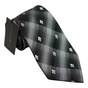 パトリック コックス 紳士ブランドネクタイ PATRICK COX necktie 剣先8,5cm シルク100% グレイ系 pc019-91061ギフト プレゼント 贈答品