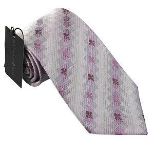 パトリック コックス 紳士ブランドネクタイ PATRICK COX necktie 剣先8,5cm シルク100% ピンク系 pc020-91226 ギフト プレゼント 贈答品
