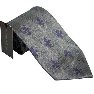 パトリック コックス 紳士ブランドネクタイ PATRICK COX necktie 剣先9,5cm レギュラータイプ pc005-gray ギフト プレゼント 贈答品