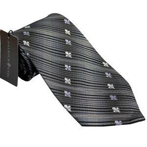 パトリック コックス 紳士ブランドネクタイ PATRICK COX necktie 剣先9,5cm レギュラータイプ pc008-gray ギフト プレゼント 贈答品