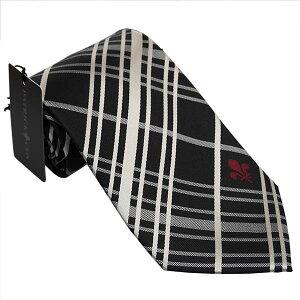パトリック コックス 紳士ブランドネクタイ PATRICK COX necktie 剣先9,5cm レギュラータイプ pc014-black ギフト プレゼント 贈答品