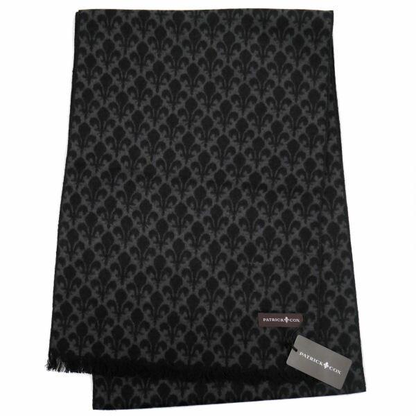 パトリックコックス マフラー ブラック系 PATRICK COX ギフト プレゼント 贈答品 PC1002-521977