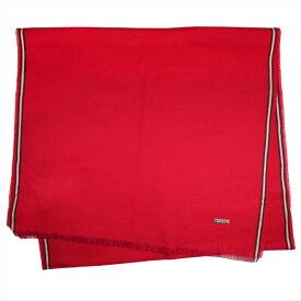 バリー マフラー スカーフ BALLY レッド系 コットン100% イタリー製 ギフト プレゼント 贈答品 クリスマス