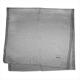バリー マフラー スカーフ BALLY シルバー系 コットン100% イタリー製 ギフト プレゼント 贈答品 クリスマス