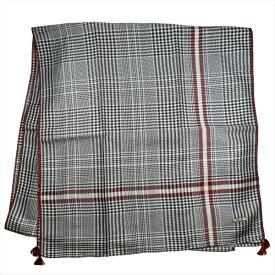 バリー マフラー スカーフ ショール BALLY ブラック系 シルク カンボジア製 ギフト プレゼント 贈答品 クリスマス