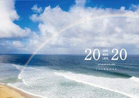 ネコポス送料無料 2020年 カレンダー U-SKE ユースケ PHOTO CALENDER (フォトグラファーユースケ 2020年カレンダー) 海 空 景色 サーフ サーフィン サーファー SURFIN SURF SURFER U-SKE ハワイカレンダー 2020 Hawaii ハワイ 壁掛け ポストカード付き u-ske