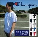 2枚までネコポス送料180円 対応 チャンピオン Tシャツ CHAMPION メンズ チャンピオン 袖ロゴ 半袖Tシャツ ワンポイン…