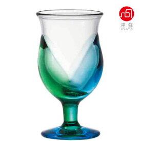 【 送料無料 】 青森 台付きグラス 送料無料 グラス ガラス 津軽びいどろ 石塚硝子 アデリア 誕生日プレゼント
