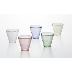 フェリーラ タンブラー5Pセット 冷茶グラス 来客用グラス tumbler glass フリーカップ ギフト 贈り物 手作り ガラス食器 北洋 石塚硝子 アデリア 誕生日プレゼント