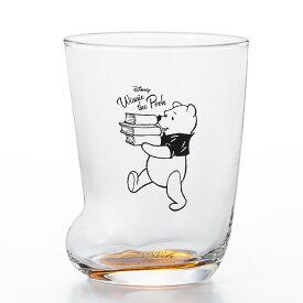 ソックスグラス プー ディズニー くま プーさん ギフト コップ ガラス食器 石塚硝子 アデリア Disneyzone 誕生日プレゼント