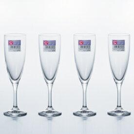 フラネ シャンパン4個セット Flane シャンパングラス ガラス食器 石塚硝子 アデリア 1000円 誕生日プレゼント