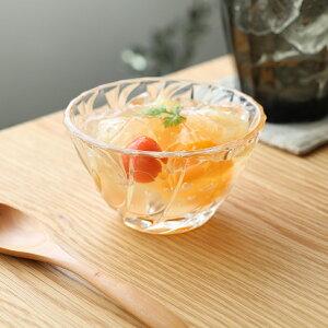 ソワール豆鉢 6個入 bowl 小鉢 サラダ ヨーグルト ガラス食器 石塚硝子 アデリア 誕生日プレゼント