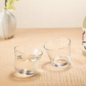 おちょこ ガラス かわいい 【ゆらりゆらり 盃 6個入】ぐい呑み 冷酒 父の日 冷酒 日本製 ぐいのみ ミニグラス ガラス食器 石塚硝子 アデリア 誕生日プレゼント