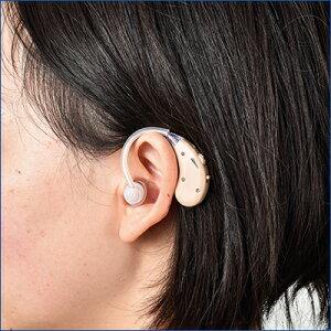 【正規品】【ショップジャパン】楽ちんヒアリング片耳セット【集音器】【補聴器】【充電式】【軽量】