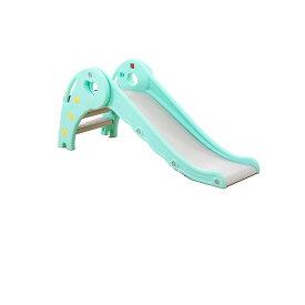 【送料無料】滑り台 室内 すべり台 折りたたみ 子供遊具 こども 誕生日プレゼント ライトブルー SUBERI-BL